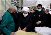تولیت آستان قدس رضوی از موکبهای خدمترسانی به زائران بازدید کرد+عکس