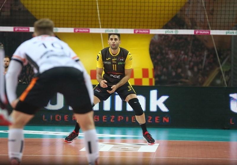 لیگ والیبال لهستان| شکست یاران عبادیپور پس از ۳ پیروزی متوالی