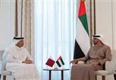 دیدار وزیر خارجه قطر با «بنزاید»در ابوظبی بعد از 4 سال اختلاف