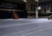 برگزاری مراسم عزاداری شهادت امام رضا (ع) باحضور رهبر انقلاب