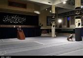 اقامة مجلس عزاء فی ذکرى استشهاد الامام علی بن موسى الرضا (ع ) بحضور قائد الثورة