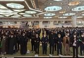 اجتماع خادمیاران رضوی در مصلی تهران برگزار شد + فیلم