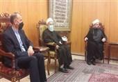 دیدار امیرعبداللهیان با مسئولین مجلس اعلای شیعیان لبنان و خانواده امام موسی صدر