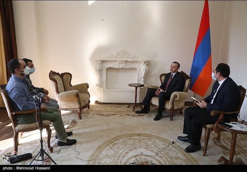 گفتگوی اختصاصی با دبیر شورای امنیت ملی ارمنستان: هیچ مذاکرهای با باکو برای تغییرمرزها نکردیم و نخواهیم کرد