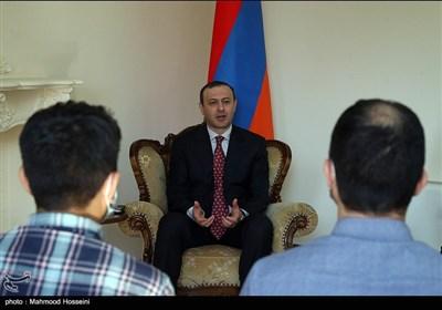 مصاحبه اختصاصی خبرگزاری تسنیم با آرمن گریگوریان دبیر شورای امنیت ملی ارمنستان