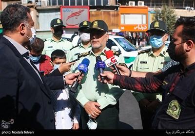 سردار حسن رحیمی رئیس پلیس استان تهران