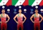İranlı Güreşçi, Azeri ve Japon Rakiplerini Nakavt Etti
