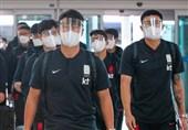 South Korea Football Delegation Arrives in Tehran