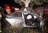 تصادف بامدادی در محور جهرم-لار 4 کشته و 14 زخمی برجای گذاشت