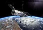 """تصویر """"تلسکوپ فضایی هابل"""" از 2 کهکشان عظیم با نیروی گرانشی زیاد!"""