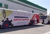 4700 دُز واکسن کرونا در اتوبوسهای سیار اطراف حرم رضوی تزریق شد