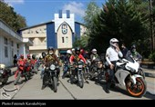 رزمایش موتورسواران قانونمند در ساری برگزار شد + عکس