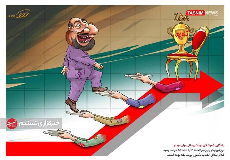 کاریکاتور/ یادگاری کمرشکن دولت روحانی برای مردم!