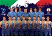 بازگشت تیم ملی کشتی فرنگی به ایران