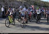 مسابقات دوچرخهسواری هفته نیروی انتظامی آذربایجان شرقی به روایت تصویر