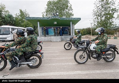 برآورده کردن آرزوی پلیس شدن بیمار سندروم دان توسط کارکنان یگان ویژه استان مازندران