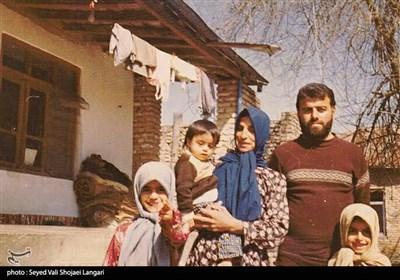 شهید سید مصطفی بخشی از شهدای بسیجی جنگ تحمیلی و از پرسنل آتش نشان ساری