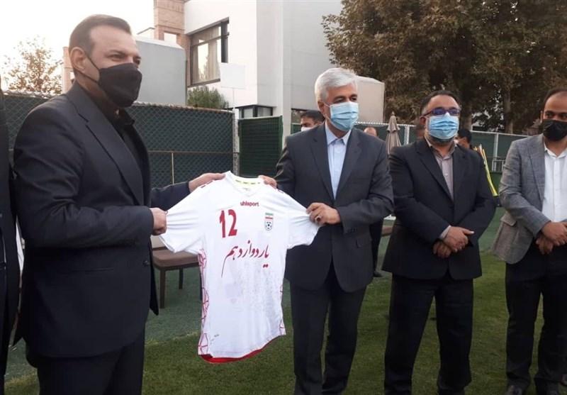 حمید سجادی , وزارت ورزش و جوانان , تیم ملی فوتبال ایران , فوتبال ,