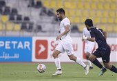 کاپ Ooredoo قطر| تساوی یاران رضاییان و العربی در نخستین حضور اسماعیلی
