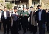 بازدید رئیس سازمان بسیج از منطقه زلزلهزده چلگرد / سردار سلیمانی: تا جبران خسارات در کنار مردم هستیم