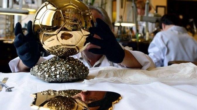 مراسم اهدای توپ طلا ,