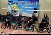 دومین دوره مسابقات پارابدمینتون بانوان قهرمانی کشور در اصفهان به روایت تصویر