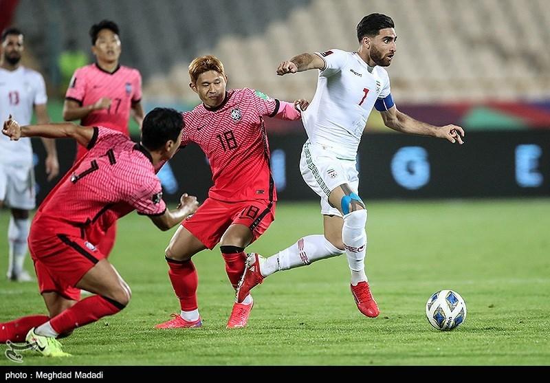 إیران تتعادل 1/1 مع کوریا الجنوبیة.. وتحافظ على صدارة المجموعة الاولى من التصفیات الاسیویة