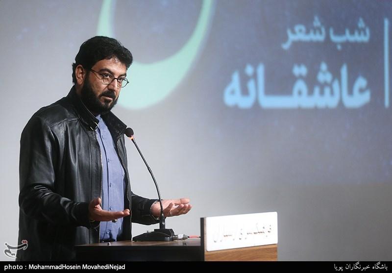 """شعرخوانی عاشقانه """"حامد عسگری"""" و """"فاضل نظری""""/ حافظ به ما یاد داد چگونه با ادب شوخی کنیم! + گزارش تصویری"""