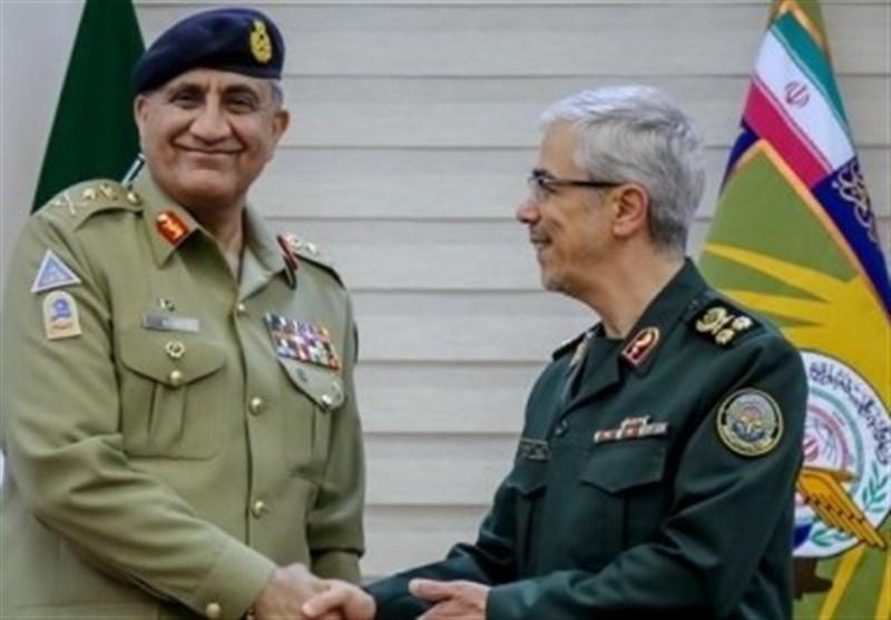 بررسی تحولات افغانستان در دیدار سرلشکر باقری و ژنرال باجوا