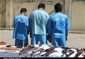 باند سرقت مسلحانه در کرمان متلاشی شد