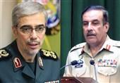 سردار باقری با رئیس ستاد ارتش پاکستان دیدار کرد