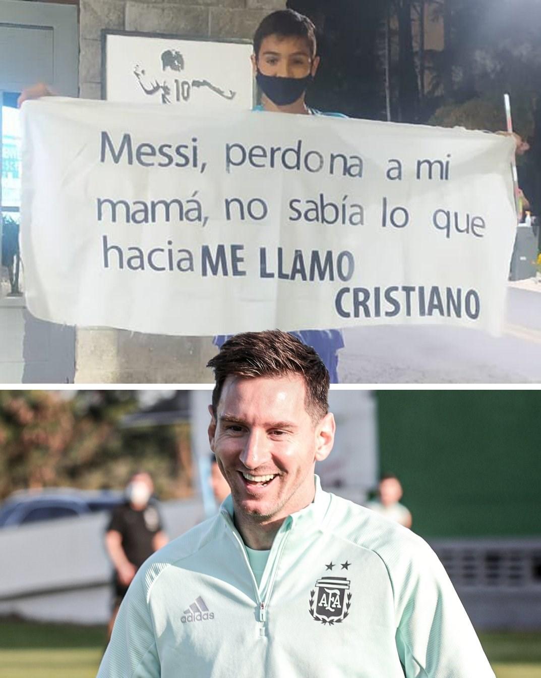 لیونل مسی , تیم ملی فوتبال آرژانتین , کریستیانو رونالدو ,