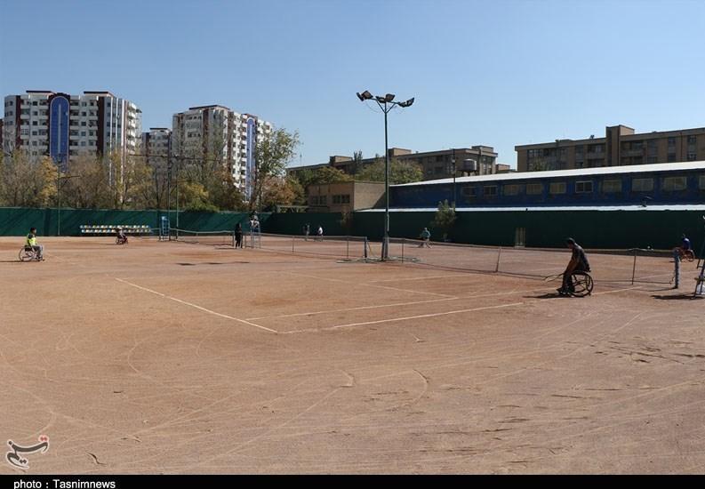 آذربایجان شرقی , ورزش جانبازان و معلولین , تنیس ,