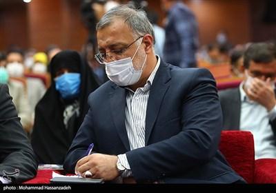 آیین تکریم و معارفه استاندار تهران