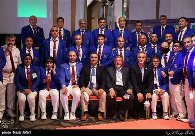 عکس یادگاری داوران دهمین دوره مسابقات تکواندو جام باشگاههای آسیا
