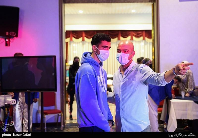 یوسف کرمی در حاشیه دهمین دوره مسابقات تکواندو جام باشگاههای آسیا
