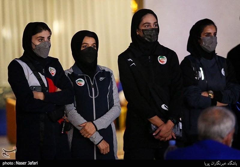 بانوان ملی پوش تیم تکواندو در حاشیه دهمین دوره مسابقات تکواندو جام باشگاههای آسیا