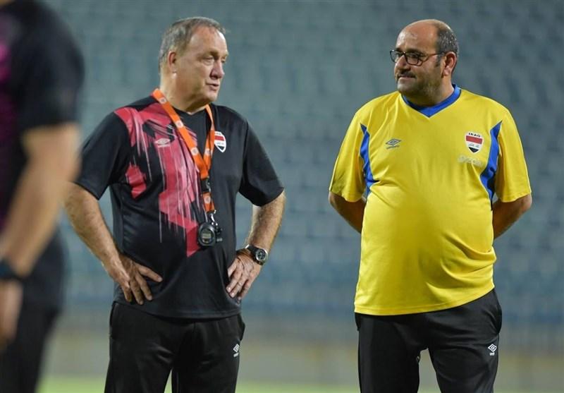 اخراج مدیر، مربی و یک بازیکن از تیم ملی فوتبال عراق و بازگشت راضی شنیسل
