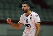 لیگ والیبال ترکیه| سومین پیروزی متوالی فنرباغچه با حضور موسوی + عکس