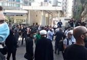 آغاز تجمع اعتراض آمیز لبنانیها مقابل ساختمان دادگستری/ تیراندازی افراد ناشناس به سمت مردم