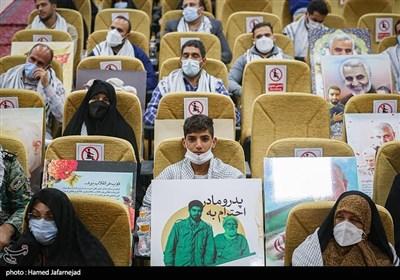 مراسم گردهمایی میثاق سفیران شهدا با خانواده معظم شهیدان- ستاد فرماندهی یگان های ویژه نیروی انتظامی