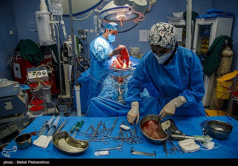 عمل اهدا عضو در بیمارستان گلستان اهواز