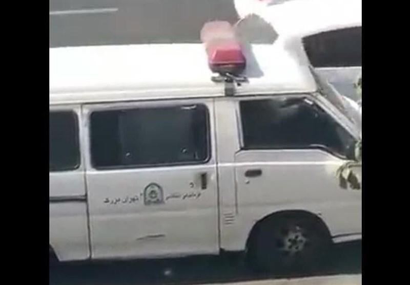 واکنش پلیس تهران به فیلم بازداشت یک خانم: اقدام خارج از ضوابط را نمیپذیریم/برخورد با مأمور متخلف