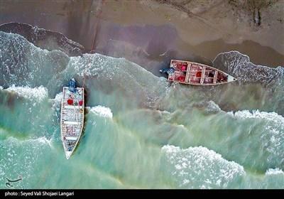 آغاز صید ماهی در مازندران
