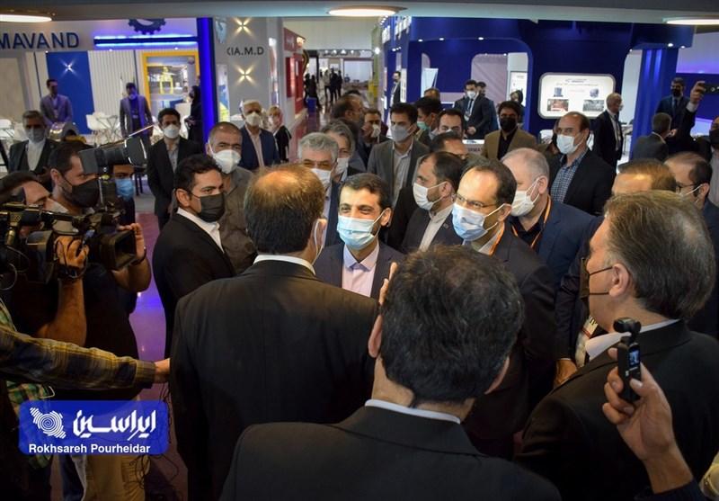بازدید مدیرعامل شرکت فولاد مبارکه از نمایشگاه بینالمللی متالکس