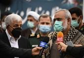 مراکز درمانی سپاه در ایام کرونا با آغوش باز از بیماران استقبال کردند+ فیلم