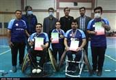 دیدار پایانی دومین دوره مسابقات پارابدمینتون قهرمانی کشور در اصفهان به روایت تصویر