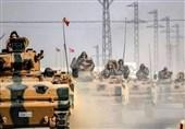 انفجار بمب کنارجادهای در مسیر کاروان نظامی ترکیه در شمال سوریه
