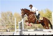 برگزاری مسابقات پرش با اسب استان آذربایجان شرقی به روایت تصویر