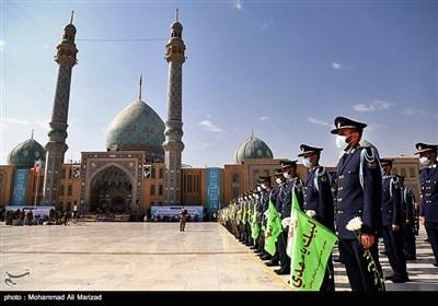 عهد سربازی نیروهای مسلح با امام عصر (عج) در مسجدمقدس جمکران برگزار شد